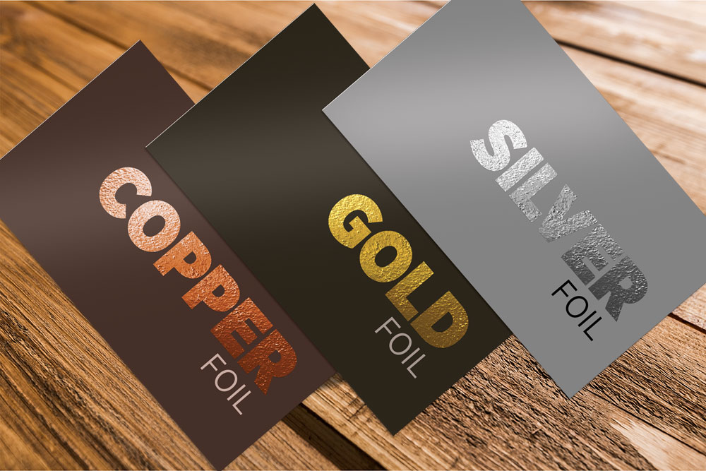 Foiled Business Cards – Rawlins Graphics