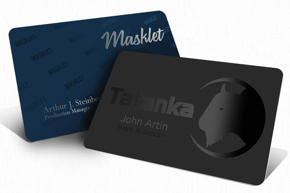 Silk Business Cards – Rawlins Graphics